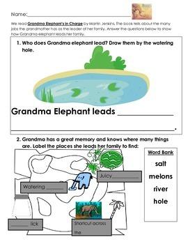 Grandma Elephant- Leadership