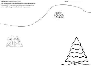 Grandma Moses Art Lesson Primary