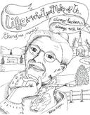 Grandma Moses coloring page
