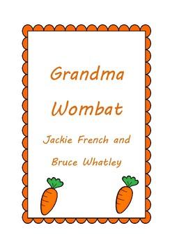 Grandma Wombat Activities
