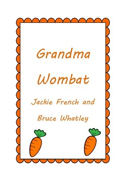 Grandma Wombat Activities
