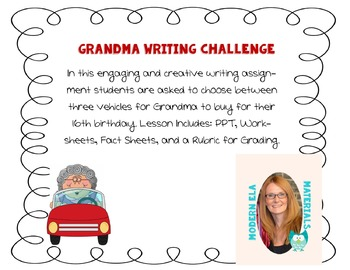 Grandma Writing Challenge