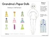 Grandma's Paper Dolls - Group 4