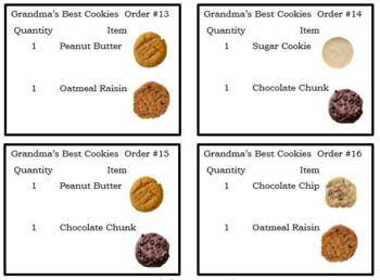 VOCATIONAL TASK Grandma's Best Cookies