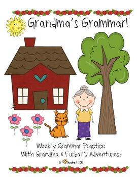 Grandma's Grammar!  Oh Dear, Grandma Forgot Her Glasses!