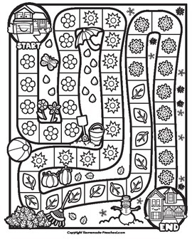 Grandma's House Seasons Game