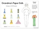 Grandma's Paper Dolls - Group 1