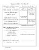 Grandma's Table Activity Sheets ~ Reader's Library ~ 3rd Grade