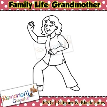 Grandmother Clip art