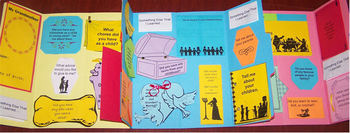 Grandmother's Virtues Interview Lapbook/Interactive Notebook