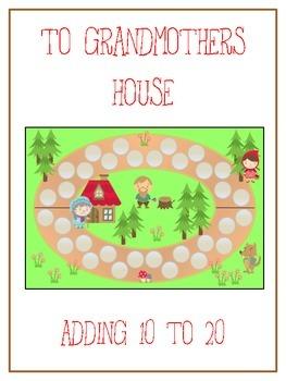 Grandmother's House Math Folder Game - Common Core - Addin