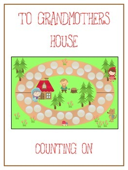 Grandmother's House Math Folder Game - Common Core - Count