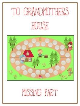 Grandmother's House Math Folder Game - Common Core - Findi