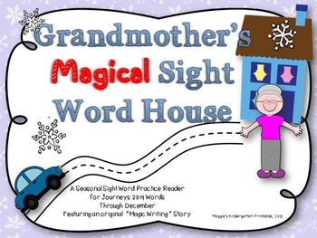 Grandmother's Magical Sight Word House Reader and Practice Pages