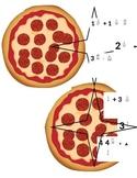 Grandpa Pizza - Add/Subtract Fractions