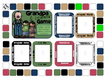 Grandpa and Grammar Board Game