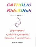 Grandparent Christmas Ornament CrossStitch Pattern
