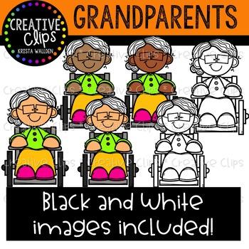 Grandparent Clipart {Creative Clips Clipart}