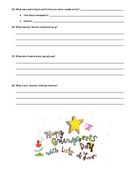 Grandparent Day Interview