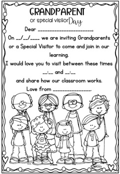 Grandparent Day or Special Visitor Day