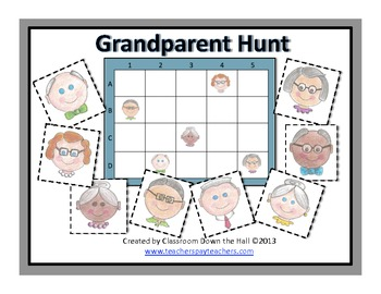 Grandparent Hunt: A Game for Grandparents' Day