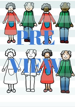 Grandparent clip art