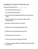 Grandparent or Special Friend Interview