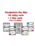 Grandparent's Day Bingo