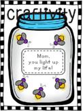 Grandparent's Day Fireflies Craftivity