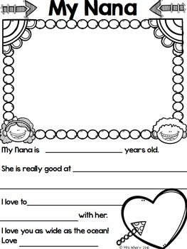Grandparent's Day Form