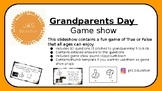 Grandparent's Day Game Show
