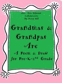 Grandparent's Day: Grandmas and Grandpas Are... Poem and Draw