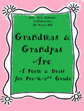 Grandparent's Day: Grandmas and Grandpas Are... Poem and Draw