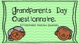 Grandparent's Day Interview Questionnaires