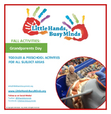 Grandparent's Day- Mini Thematic Unit for Toddlers/Pre-K