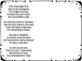 Grandparent's Day Poems