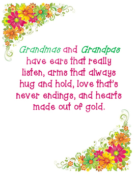 Grandparent's Day Poems