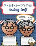 Grandparent's Day Writing Craft- No Prep!