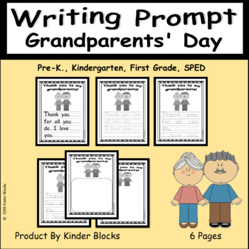 Grandparent's Day Writing Prompt