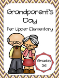 Grandparent's Day for Upper Elementary