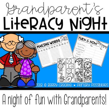 Grandparent's Literacy Night