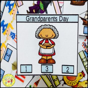 Grandparents Day Task Cards