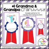 Grandparent's Day Craft {Number One Grandma & Grandpa}