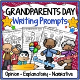 Grandparents Day Writing Prompts {Narrative, Informative &