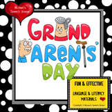 Grandparents' Day Early Reader Literacy Circle