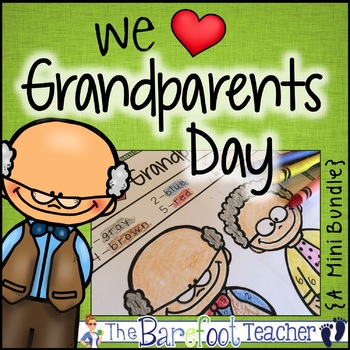 Grandparents Day Math & Literacy Activities