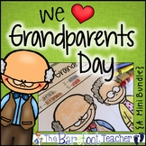 Grandparents Day Math & Literacy Activities (Distance Learning)