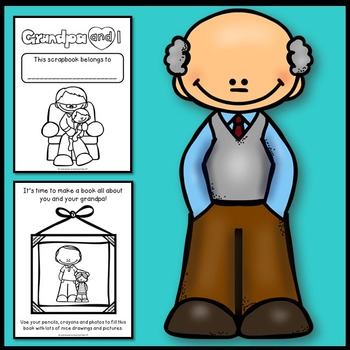 Grandparents Day Activities (Grandpa Scrapbook)