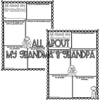 All About My Grandma and Grandpa