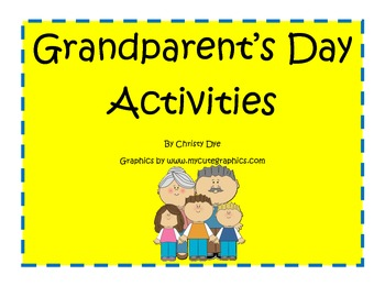 Grandparent's Day Activities